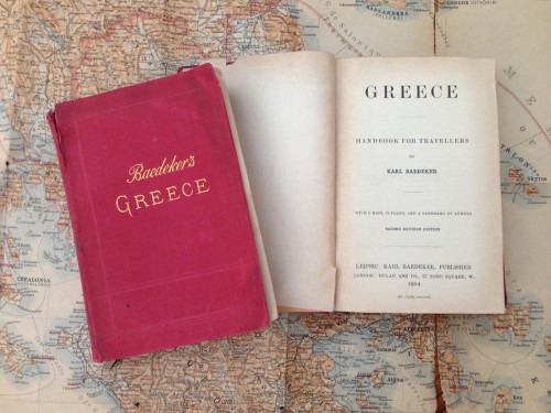 Baedeker's 1894 & 1905 Handbooks for Travellers with Map